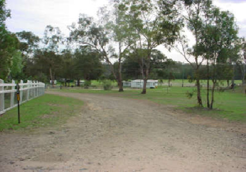 A man has died at Glendon Camping Ground near Warwick.