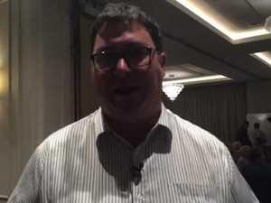 George Christensen speaks about today's result