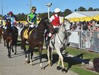 LOCAL HOOP: Damian Browne won the Sunshine Coast Guineas with Tivaci.