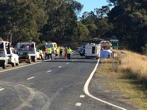 LISTEN: Police explain horror fatal crash on Bruxner Hwy