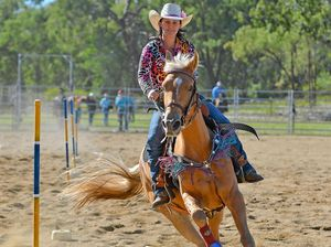 Barrel race rider Christy in form ahead of American dream