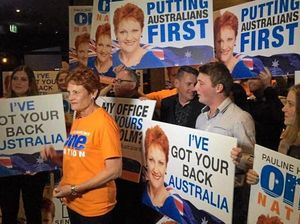 Pauline Hanson thanks Ipswich for her success