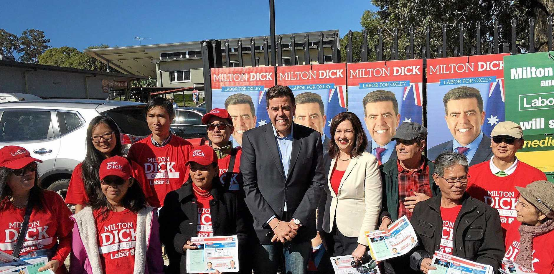 Milton Dick's targeted grassroots campaign paid dividends in Oxley.