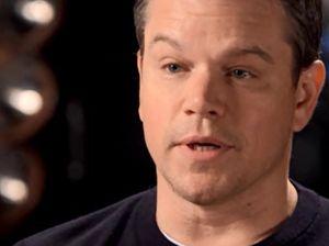 Sunday Night Matt Damon interview