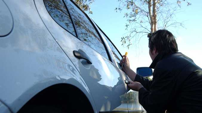 Detective Senior Sergeant Matt Howard is urging the public to lock their cars and be aware of any persons, particularly juveniles, they see walking amongst or near parked cars (file photo).