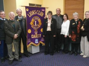 New committee for Lions Club of Oakey
