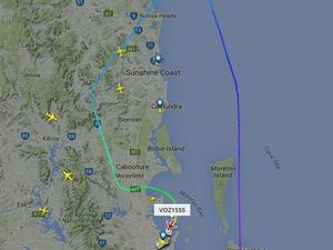 Flight from Sydney to Hervey Bay makes emergency landing