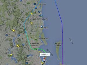 Flight from Sydney to Hervey Bay makes emergency landing
