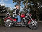 BIG ADVENTURE: Richard West plans to ride around Australia   in 62 days.