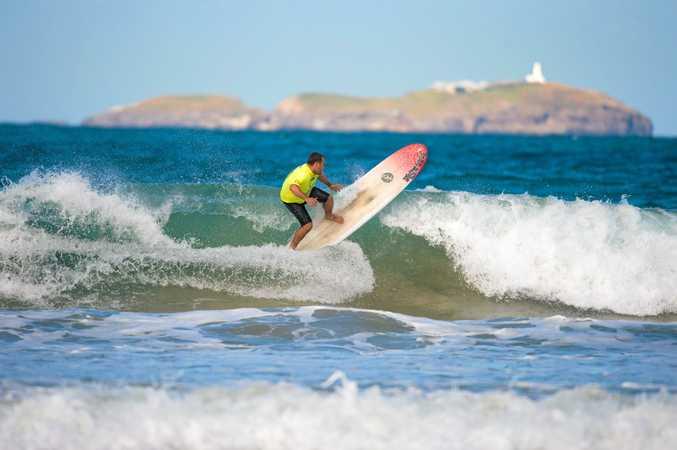Australian Open Longboard Champion and Coffs Coast local Paul Scholten
