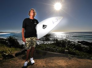 Surfing champion adapts to the challenge