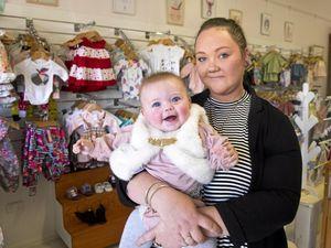 New baby boutique stocks handmade goods