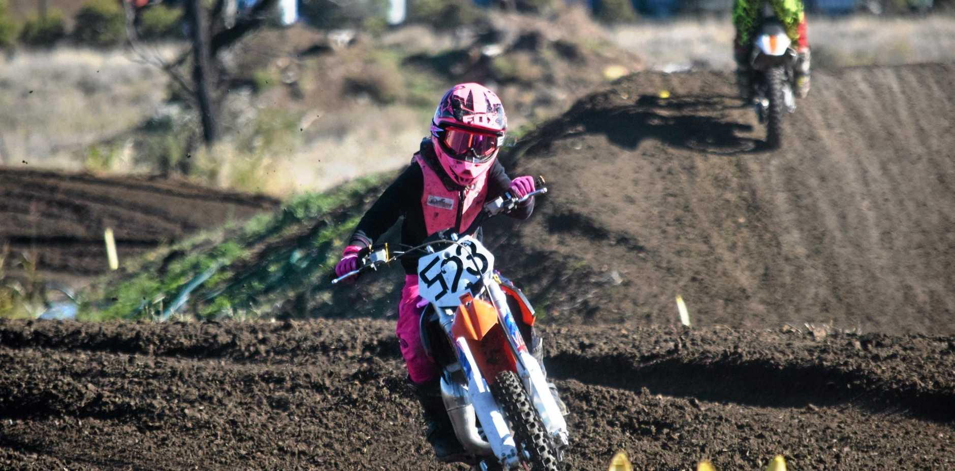 ON TRACK: All the action from the Go Girls Weekend Championship, held at the Roma Motocross Track.