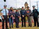 Warwick police and indigenous residents mark the start of NAIDOC Week during a ceremony.