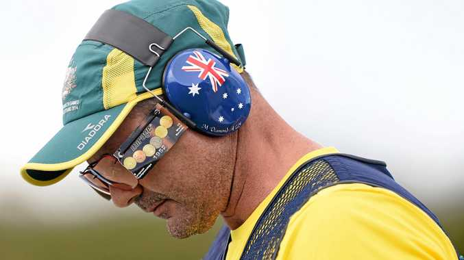 RULED OUT: Australian shooter Michael Diamond won't be going to the Rio Olympics.