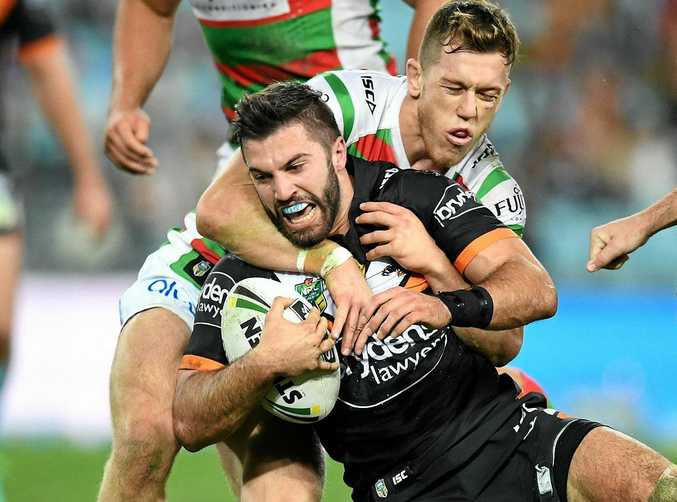 STRONG FORM: James Tedesco of the Tigers will play in Origin III next week.