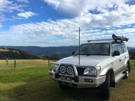 The Higgins Storm Chasing team on the way to the Southern Downs and Granite Belt.