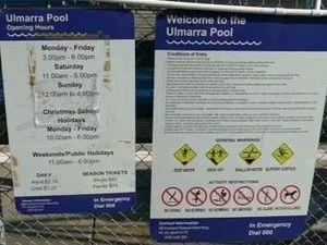 Save Ulmarra Pool