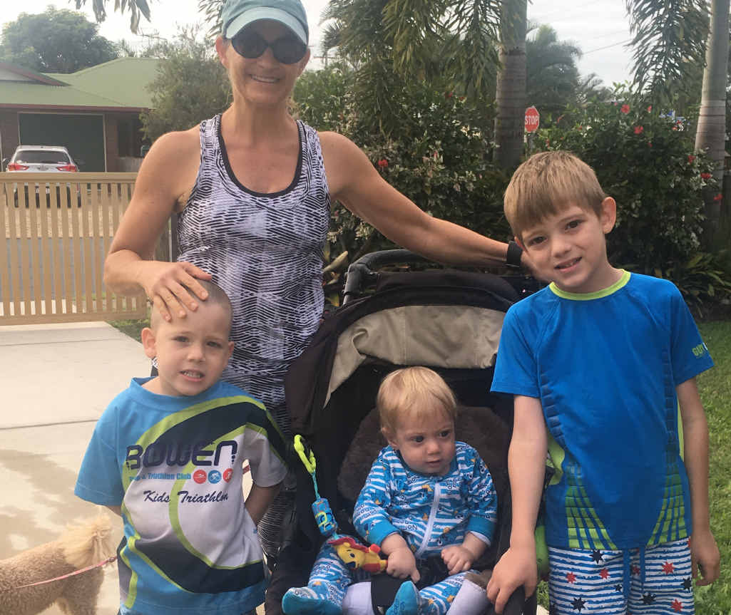 LOVE RUNNING: Anne-Marie, Ryder and Bryn Kehres will be running in this year's running festival.