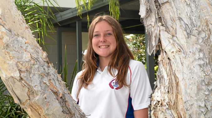 Lockyer District High School student Keeley Dennien represented the Darling Downs in three sports this year.
