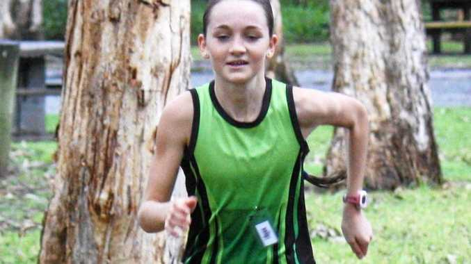 KEEP RUNNING: Jess Deans was back in the winner's circle on Sunday in the Mid North Coast Cross Country Series.