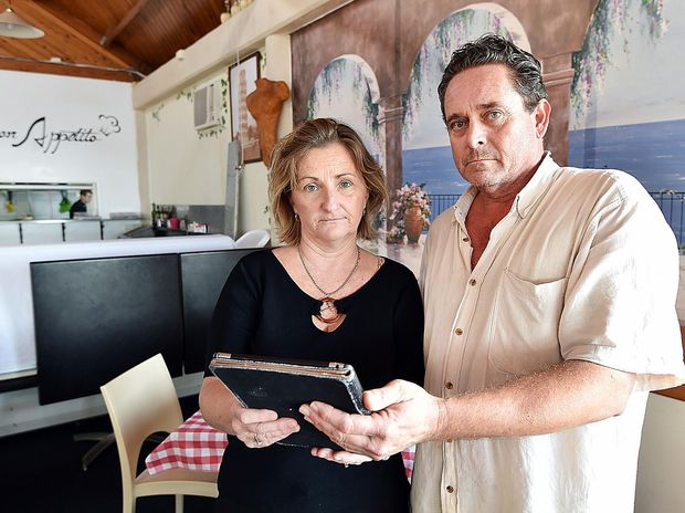 DEVASTATING: Viva Italia owners Irene and Steve Coles are fighting against harmful rumours.