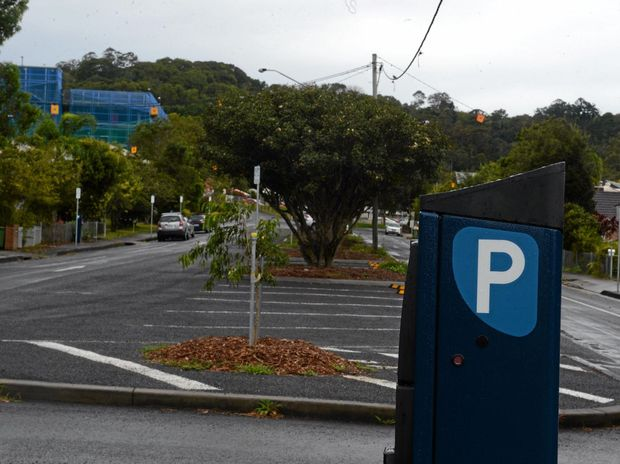 The new parking restrictions around the Lismore Base Hospital have not been popular. Dalziell Street.