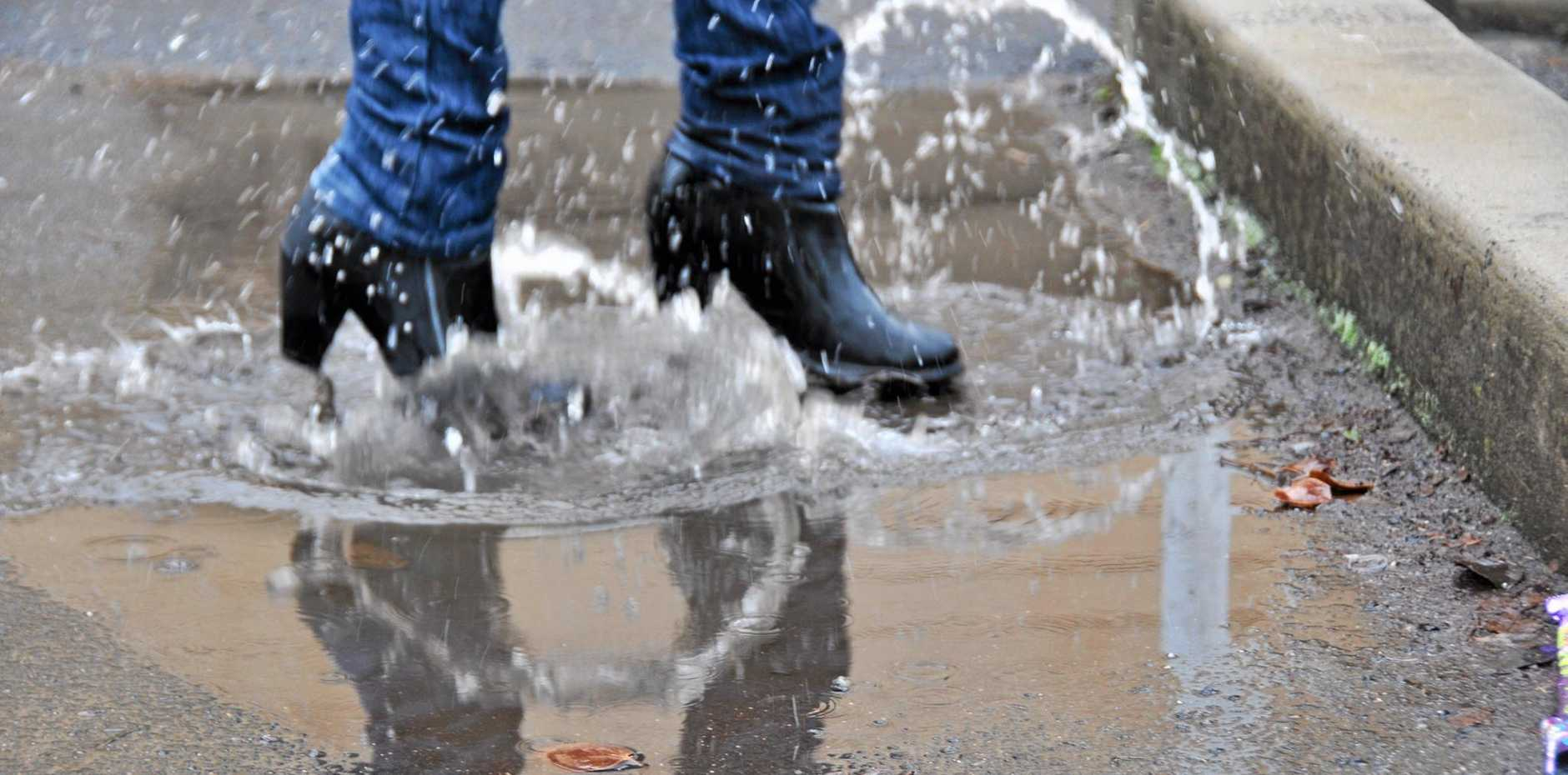June was the wettest on record for Warwick, and July is set to be just as wet.