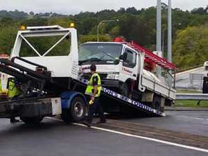 Accident near Bruce Hwy