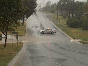 ROAD CLOSURES: Heavy rain sparks treacherous conditions