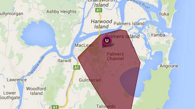 More than 1290 customers were impacted by a power outage in Maclean.