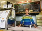 Pailine Hanson seen here at her former fish and chip shop. Hanson owned and operated the store for 10 years before entering politics.