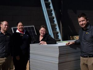New solar installed at Mundubbera IGA after scam