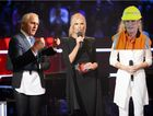 Digitally altered image of Sonia Kruger, Bill Shorten and Malcolm Turnbull.