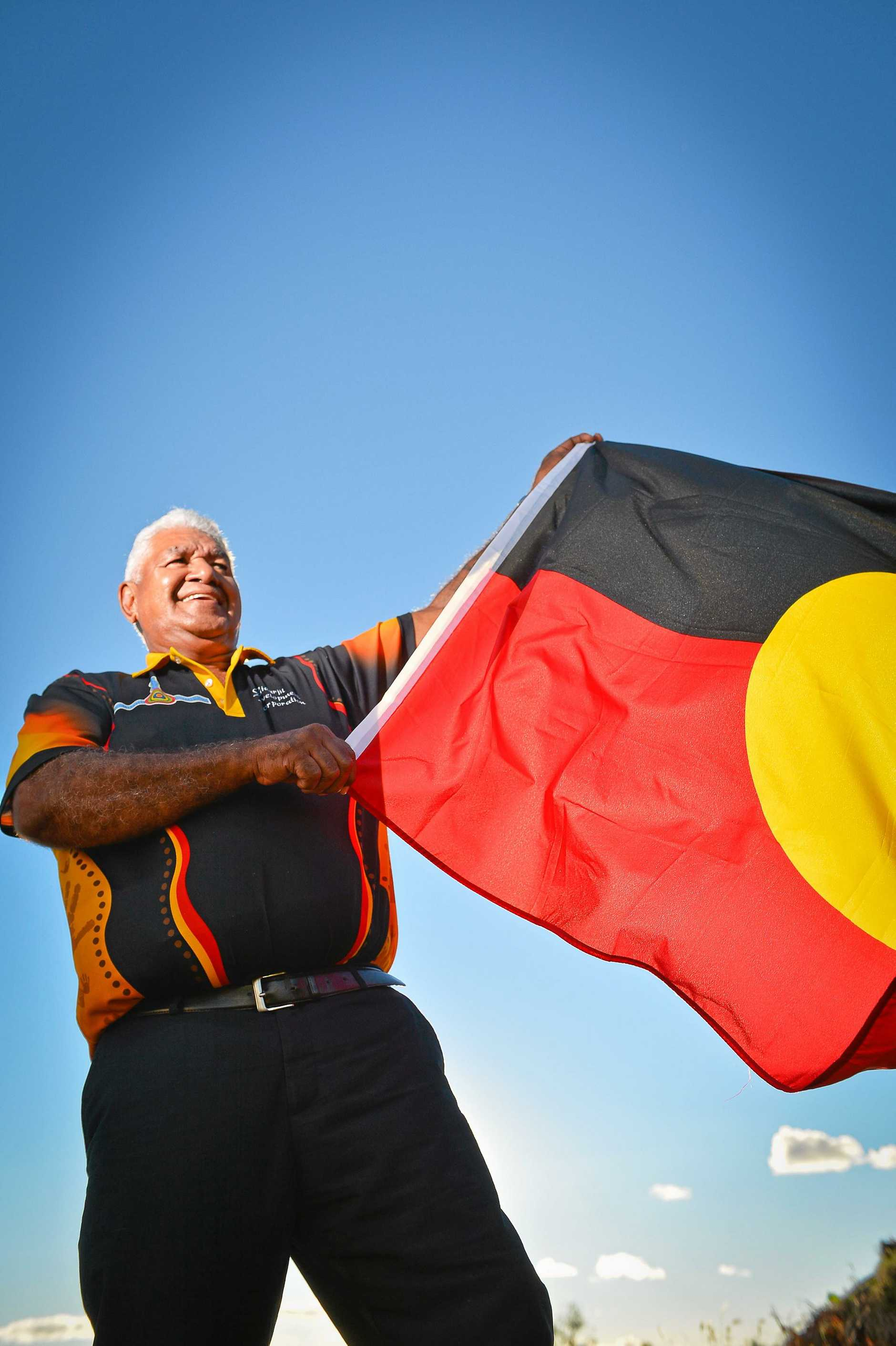 PRIDE: Goreng Goreng Aboriginal Elder, Richard Johnson says NAIDOC Week celebrates First Nations Peoples' culture and history.