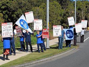 Mental health nurses protest staffing shortages