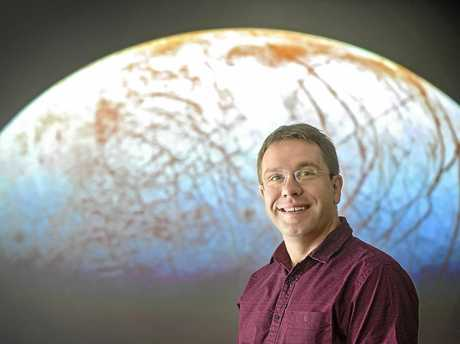 Associate professor and astral searcher Jonathan Horner