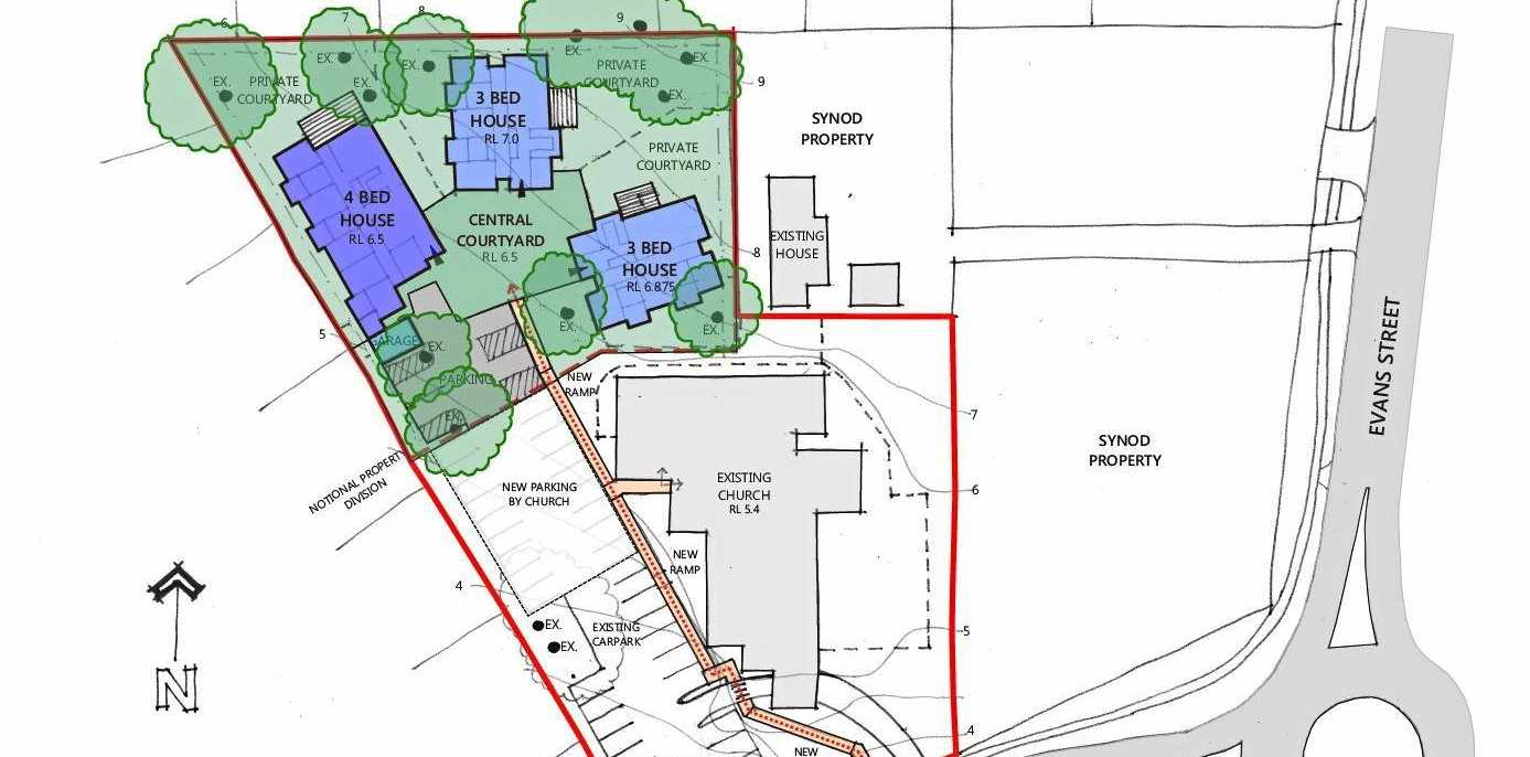 VISION: The site plan for the new disability services facility proposed for Millwell Rd, Maroochydore.