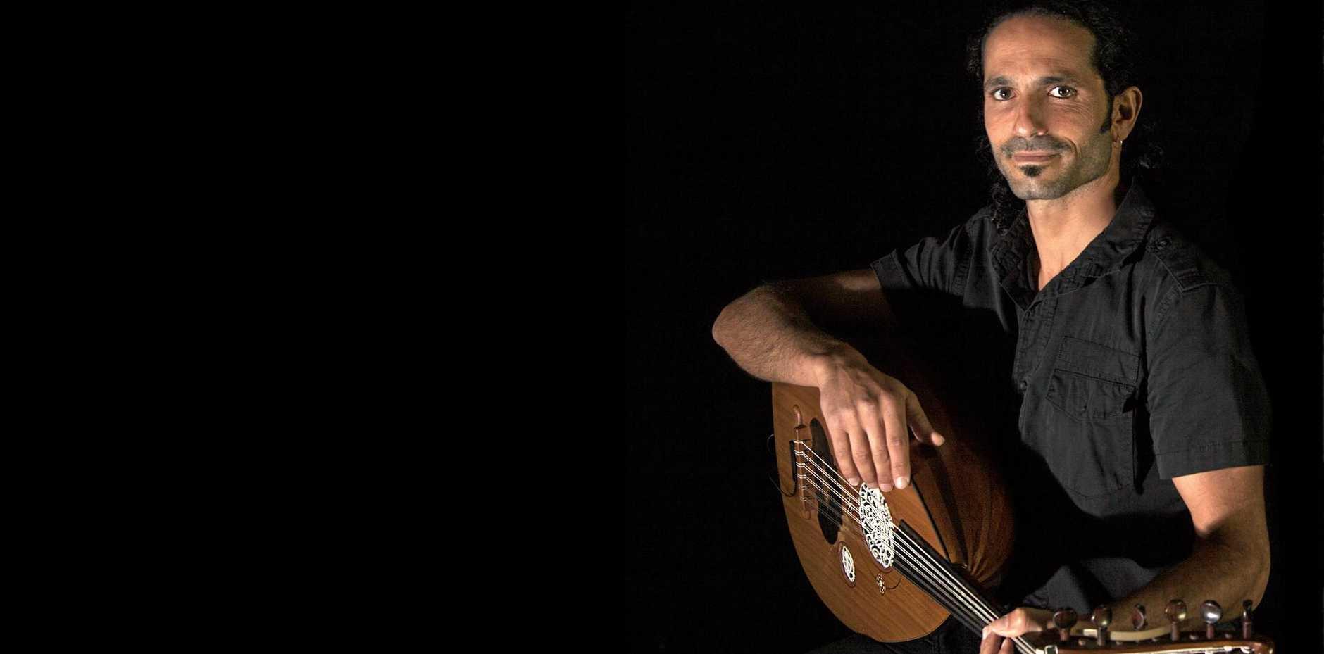 LOCAL: Byron Bay artist Shai Shriki is preparing a brand new album of world music.