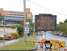The new parking restrictions around the Lismore Base Hospital have not been popular. Hunter Street.