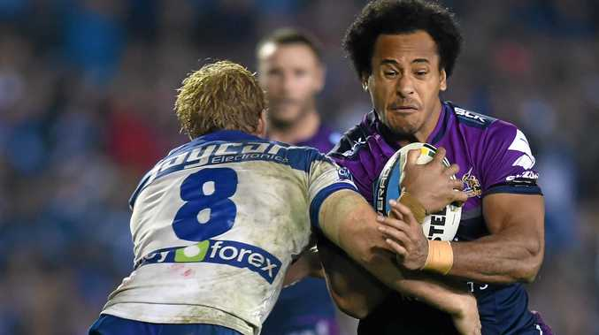 Felise Kaufusi (right) will train for the Queensland State of Origin team this week.