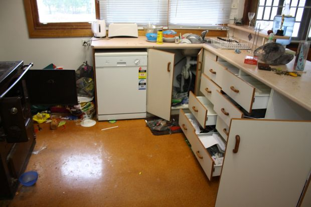 Damage and mess caused a tenant from hell