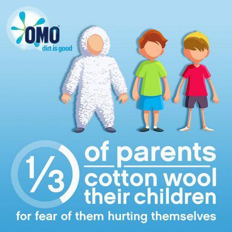One in three parents cotton-wool their children.