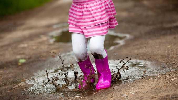 Mud won't hurt them - let them get dirty!