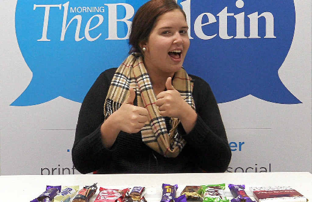 CHOCOLATE TIME: To celebrate International Chocolate Day, we put the tastebuds of Bully reporter Zhanae Conway-Dodd to the test.