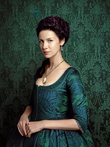 Caitriona Balfe stars as Claire Randall in the TV series Outlander. Supplied by Foxtel.
