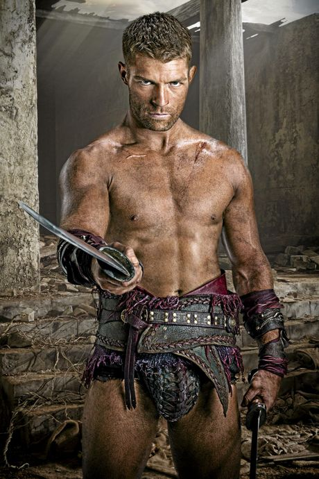 Liam McIntyre stars in the TV series Spartacus: Vengeance. Supplied by Channel 9. Please credit image to Michael Muller.