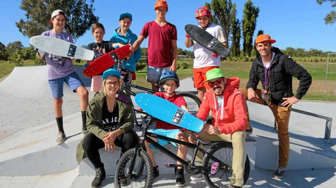 Teen Street and JC Epidemic will hold a free youth event at the Lake Apex Skate Park today.