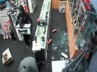 NSW Police have release CCTV footage of thieves raiding Harvey Norman in Ballina