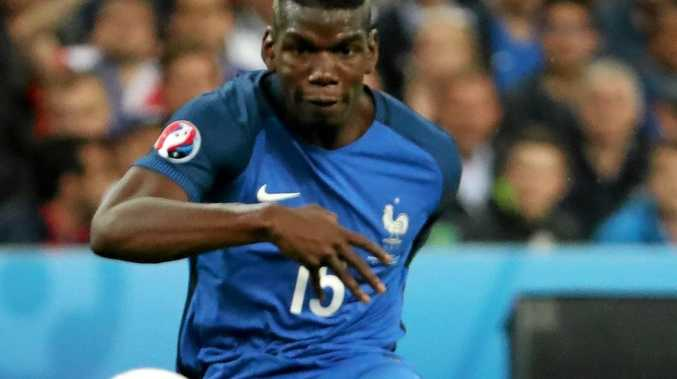 IN DEMAND: Paul Pogba of France in action during the Euro 2016 quarter-final match against Iceland.